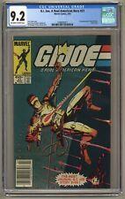 G.I. Joe, A Real American Hero 21 (CGC 9.2) 1st Storm Shadow; Newsstand (j#5979)