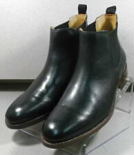 209827 PFBT40 Men's Shoes Size 11.5 M Black Leather Boots Johnston & Murphy