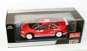 1/18 Peugeot 307 WRC  Total  Rally Monte Carlo 2004  M.Gronholm