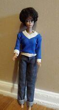 1960 Midge 1962 Babie 1958 By Mattel Inc. Dark Brown Bubble  Cute Hair Doll