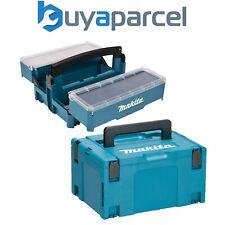 Makita P-84137 Empilhável Cantilever Caixa De Ferramentas Organizador + Makpac 3 & Inlay Type