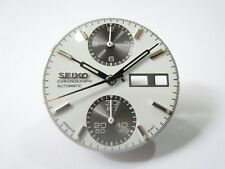"NEW REPLACEMENT DIAL & SET OF HANDS FITS SEIKO ""PANDA"" 6138-8020 MEN'S WATCH"