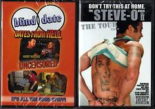 Blind Date: Uncensored Dates From Hell & Steve-O,Don't Try This at Home II; DVDs