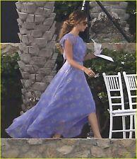 Elizabeth and James Long Asymmetrical Dress Size 8 $535