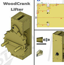 Woodworking Plans - Woodcrank Lifter - PDF free shipping.