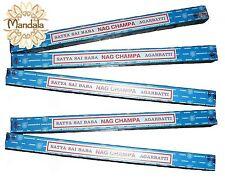 Encens NAG CHAMPA Lot de 5 Boites de 10 Grammes !  (Satya Indian Incense)