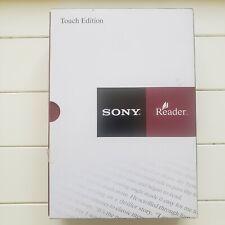 Sony PRS-600/SC Touch Edition E-Book Reader Silver new open box