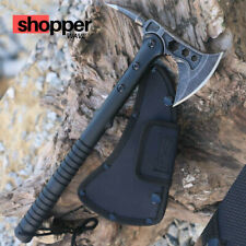 """15"""" TOMAHAWK TACTICAL HUNTING AXE CAMPING THROWING BATTLE HATCHET SURVIVAL KNIFE"""