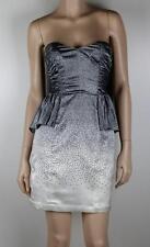 BARDOT Strapless Peplum Cocktail Dress Sz 8 - Buy 5 Items get FREE POST #577