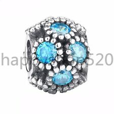Santa S925 silver charms safety chain pendant bead For European bracelet bangle