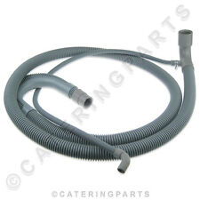 049878 ELECTROLUX DISHWASHER GREY FLEXIBLE DRAIN HOSE & OVERFLOW PIPE 2 METRE 2m