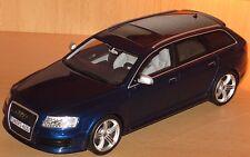 Audi RS6 C6 Avant V10 Quattro Biturbo blau Nr. 473 von 1500 Otto Mobile 1/18 NEU