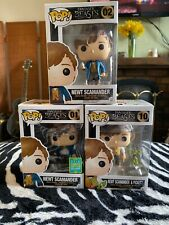 Funko Newt Scamander Pickett Set Of 3 Including Summer Exclusive