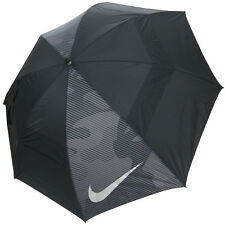"Nike Golf Windsheer Lite 62"" Dual Canopy Umbrella, Black/Silver"