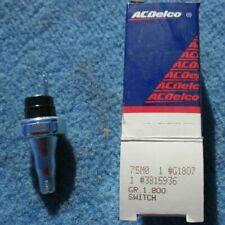 Engine Oil Pressure Switch ACDelco G1807