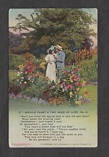 1916 WW1 Bamforth Song Card: If I Should Plant a Tiny Seed of Love No3
