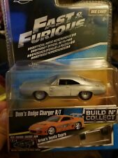 Jada Fast & Furious Dom's Dodge Charger R/T Build N' Collect Diecast Scale 1:55