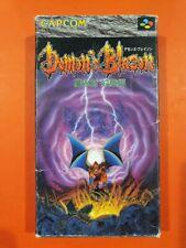 Nintendo Demon's Blazon Super famicom Sfc Ntsc J Snes Demon's Crest