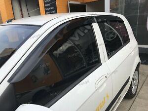 AUS Weather Shields Weathershields Window Visors for Hyundai Getz 02-11 T