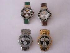CAMEL 4 pins - montres Camel Trophy - 2 x A.B. - 2 x 80ème anniversaire