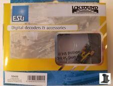 ESU 55400 New 2018 LokSound V4.0 PluX12 DCC Sound Decoder With Speaker ~ Factory