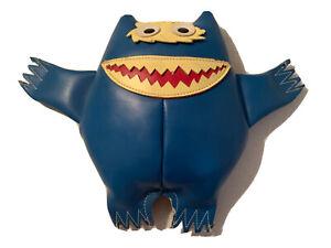 1967 Blue Nauga Monster by Naugahyde Vinyl Fabric UniRoyal Inc