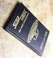Vintage Star Trek Next Generation Data's Log Book- Unused-Free S&H