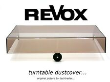 new dustcover for your ReVox turntable...