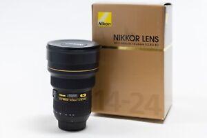 Nikon AF-S NIKKOR 14-24mm F2.8G ED Ultra Wide Angle Zoom Lens