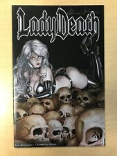 Lady Death Dark Millennium #1 Tranquility Variant Cover by Richard Ortiz Signed