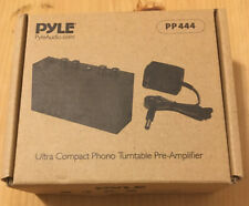 Pyle Audio PP444 Ultra Compact Phono Turntable Pre-Amplifier Preamp