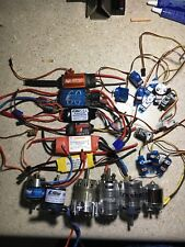Rc Airplane Parts Lot Servos Motors Esc