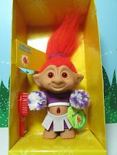 "Poko The Cheerleader - 5"" Ace Treasure Troll Doll - New In Package"