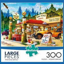 Buffalo Games Pine Road Service 300 Large Piece Jigsaw Puzzle NEW