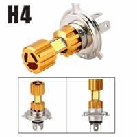 Motorcycle H4 H6 18W LED 3 COB Headlight Bulb 2000LM 6000K Hi/Lo Beam Light Bulb