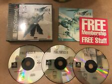Final Fantasy Vii 7 Ff7 (PlayStation 1 Ps1 Cib Complete Ps One Greatest Hits)