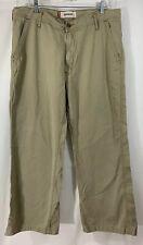 Levis Mens Khaki Workwear Pants (36X29.5