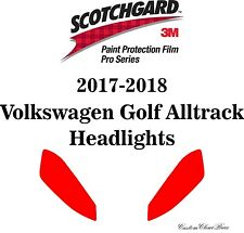 3M Scotchgard Paint Protection Pro Serie 2017 2018 2019 Volkswagen Golf Alltrack