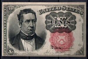 USA Fr 1266 10 Cents 5th Issued 1874-76 AUNC Rare