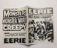 Eerie #1 Ashcan Magazine Photocopy REPLICA, 24 Pages (see details)