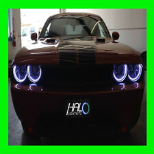 2008-2014 DODGE CHALLENGER WHITE LED HEADLIGHT HALO RING KIT by ORACLE