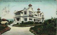 Home Paul De Longpre Artist Hollywood California CA Vintage 1900's Postcard