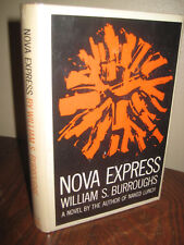 1st Edition NOVA EXPRESS William S. Burroughs FIRST PRINTING Classic GROVE PRESS