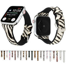Slim Horse Hair Watch Band for iWatch Apple Watch 38 42mm 44 40mm Silicone Strap