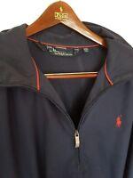 Mens POLO RALPH LAUREN overhead 1/4 zip jacket.Size XL/2XL Immaculate. RRP £185