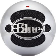 BLUE MICROPHONES BLMSBALM - Snowball USB Microphone - Aluminum