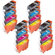 20PK Printer Ink Cartridges for PGI-225 CLI-226 Canon MG5220 MG5320 MG5120 +CHIP