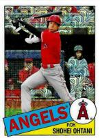 2020 Topps Update 1985 Topps Chrome Silver Pack CPC-7 Shohei Ohtani Angels