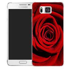 Étuis, housses et coques rose Pour Samsung Galaxy Alpha en silicone, caoutchouc, gel pour téléphone mobile et assistant personnel (PDA)