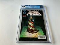 SUPREME POWER 1 CGC 9.8 WHITE PAGES AMERICAN FLAG COVER MARVEL COMICS 2003